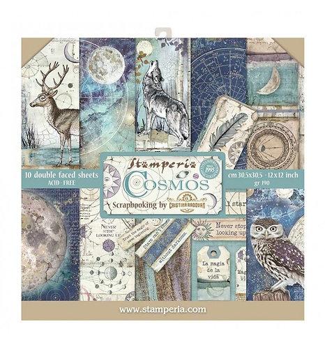 "Stamperia""Cosmos"" 30,5x30,5"