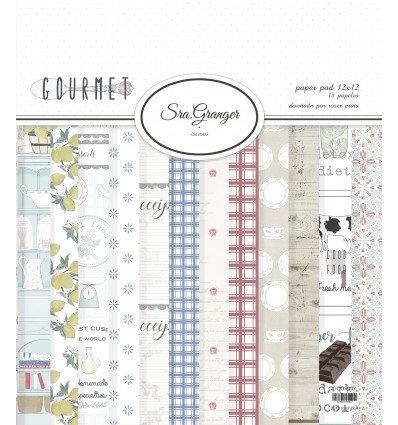 """Colección Sra. Granger """"Gourmet II"""" 18 hojas"""