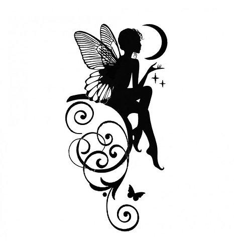 "Stencil ""Fairy"" Stamperia 12x25cm, 0,25mm espesor"