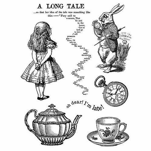 """Sello Stamperia caucho""""Alice"""""""