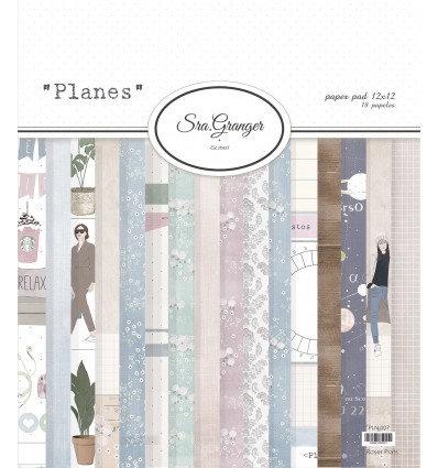 """Colección Sra. Granger """"Planes"""" 18 hojas"""