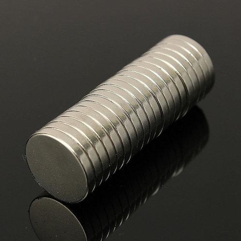 Imán neodino 8 x 1 mm (10 uds)