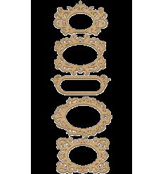 Set maderas marcos de Fabrika decoru mod.141