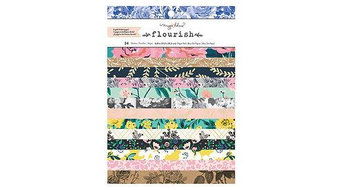 "Maggie Holmes Flourish 6x8"""