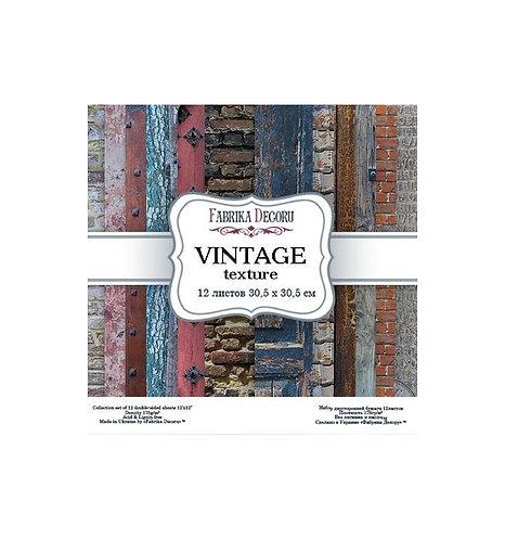 """Fabrika decoru """"Vintage textura"""" 30,5 X 30,5"""