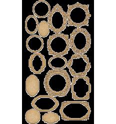 Set maderas marcos de Fabrika decoru mod.139