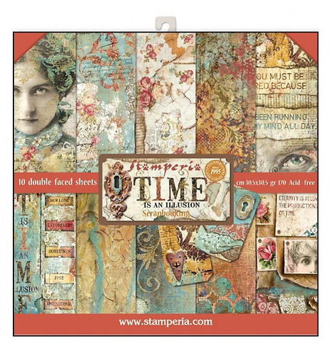"Stamperia""Time is a Illusion"" 30,5x30,5"