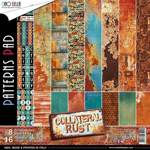 "CIAO BELLA""Collateral Rust""12""x12"""
