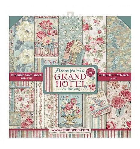 """Stamperia""""Grand Hotel"""" 30,5x30,5"""