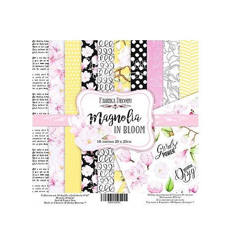 """Fabrika decoru """"Magnolia in Bloom"""" 20x20"""