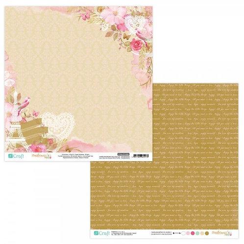 DP Craft. Papel 30,5 x30,5 doble cara.  1 Ud