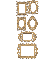 Set maderas marcos de Fabrika decoru mod.134