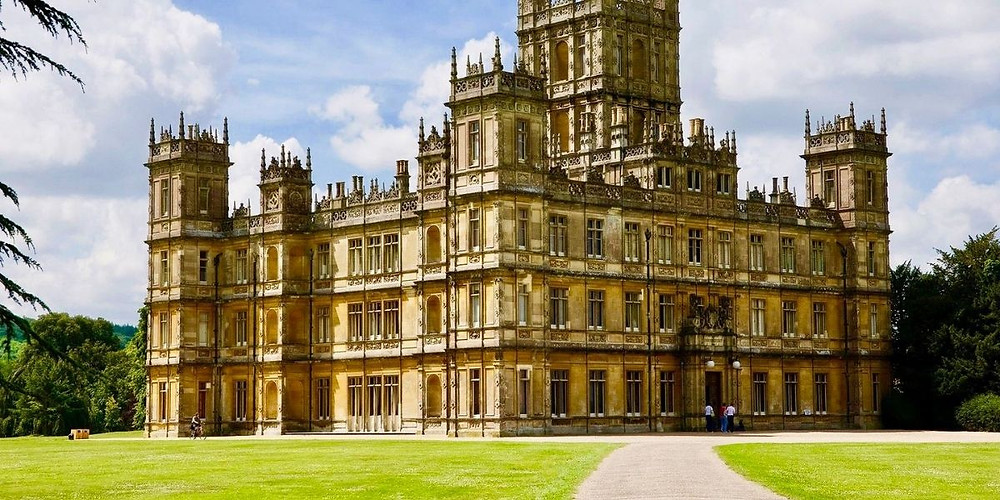 Highclere Castle in Hampshire