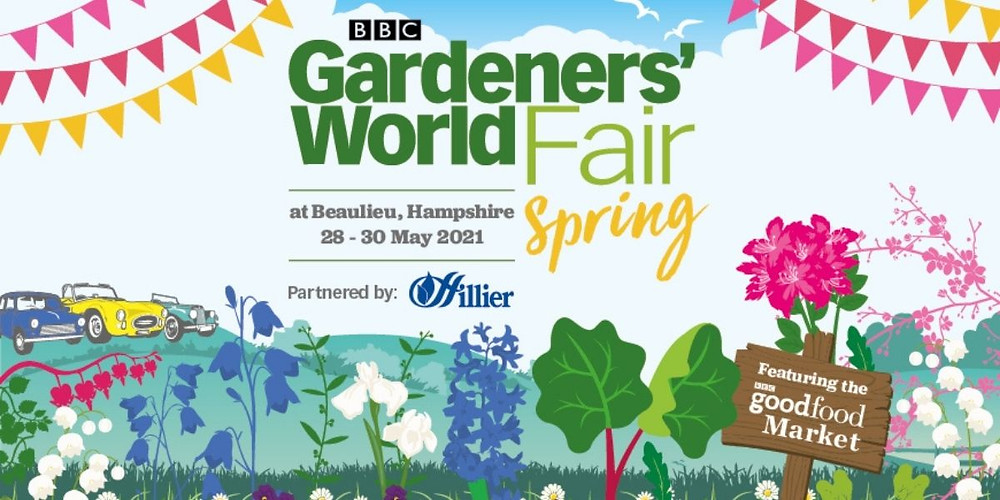 BBC Gardener's World Spring Fair in Beaulieu, Hampshire