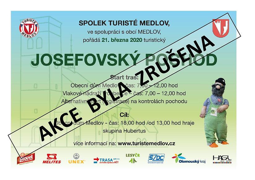 Josefovský pochod - plakát A3 2020 - z
