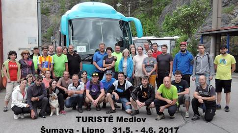 Cykloturistika a turistika na Šumavě a v okolí přehrady Lipno
