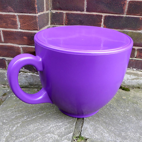 Tea Cup Stool - Purple