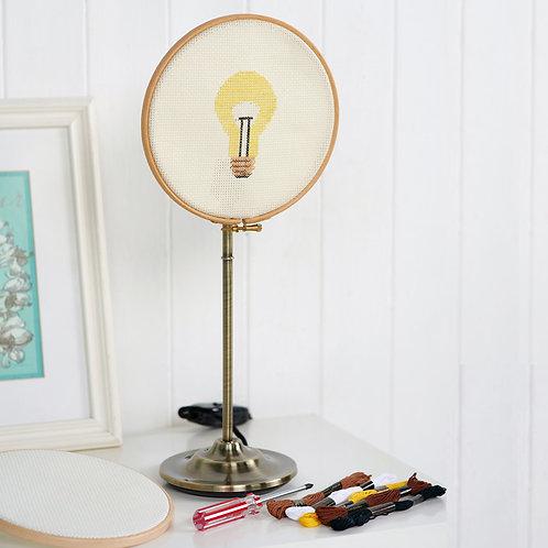 Cross Stitch Lamp DIY Craft Kit