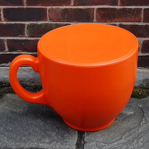 Tea Cup Stool - Orange