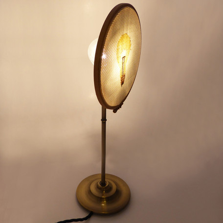 Cross Stitch Lamp - Press Release