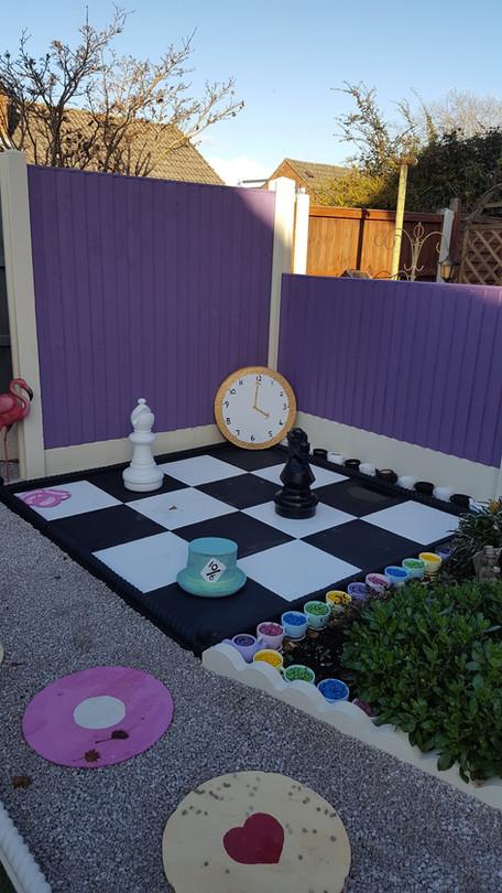 Alice in Wonderland Lockdown Garden