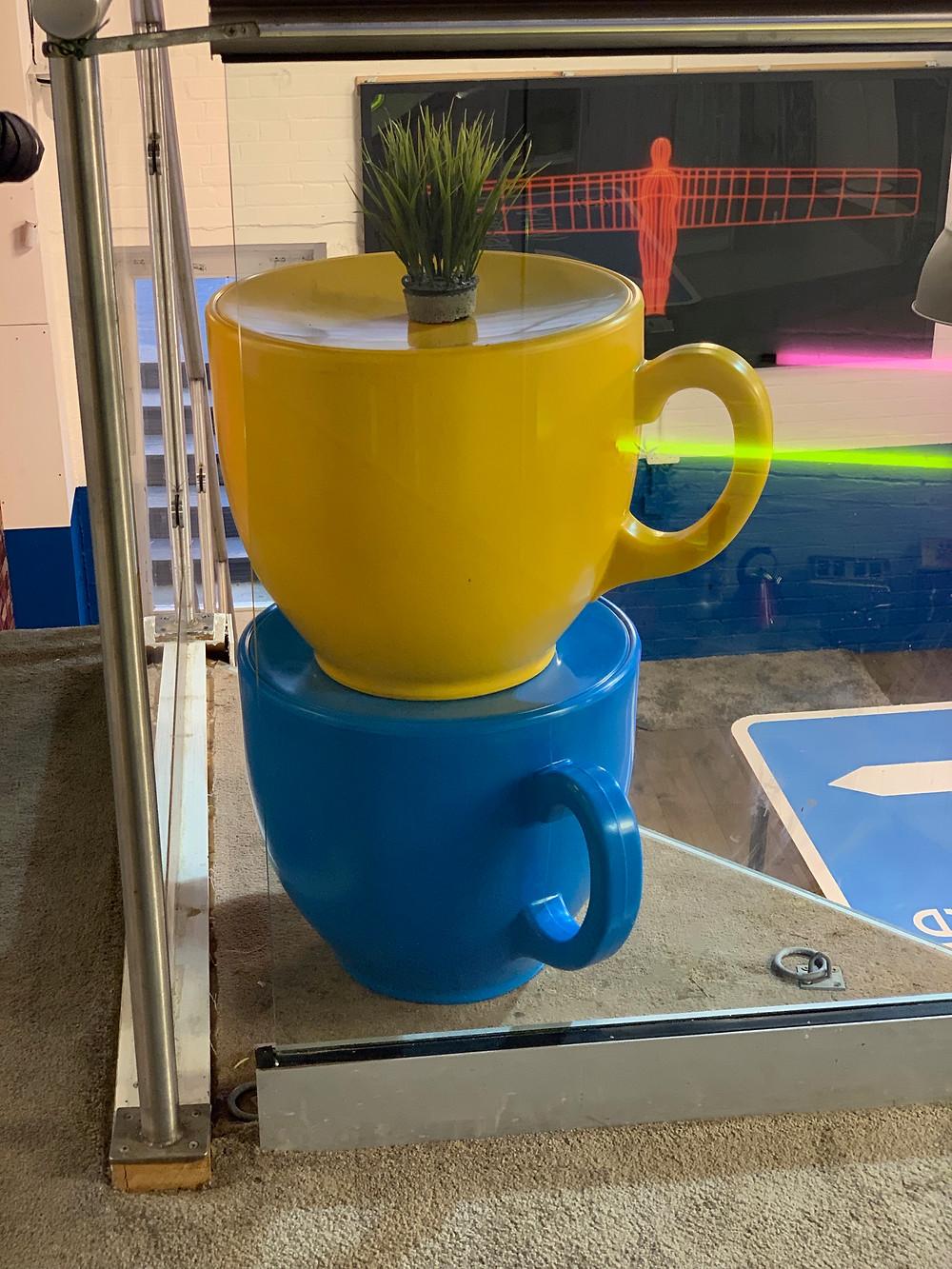 Geordie Shore House Tea Cup Stools