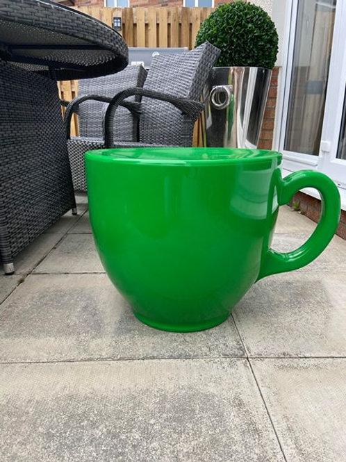 Tea Cup Stool - Light Green
