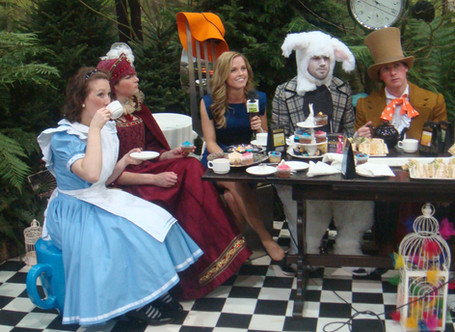 Tea Party at the Ideal Home Show