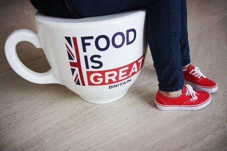 Food is Great Britain - British Embassy, Brazil