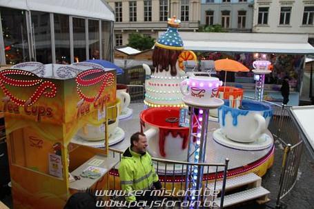 Carousel in Geraardsbergen, Belgium