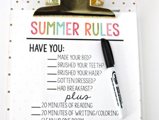 A summer list for your kid's vacation