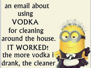 Cleaning with Vodka!