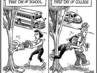 Kids going to college?