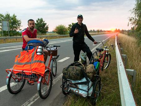 """Велопробег ветеранов АТО """"Запад-Восток"""" на наших велосипедах - 2000км!"""