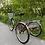 красный велосипед трехколесный