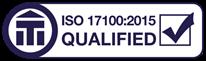 ISO 17100:2015 Qualified status achieved