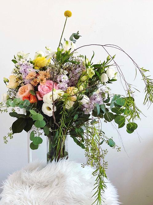 A bespoke Centre piece in vase