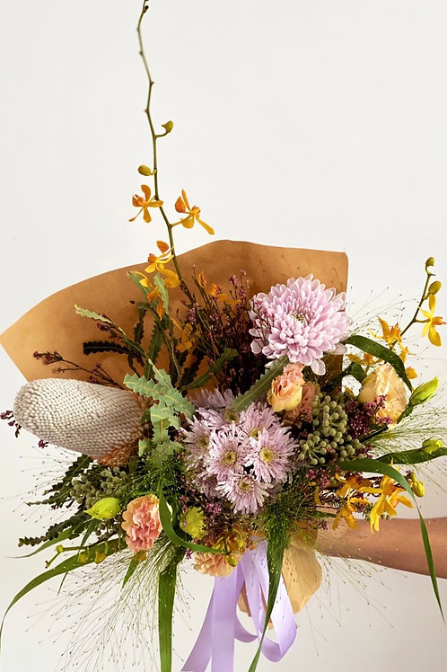 Wednesday Surprise posies (florist's pick)