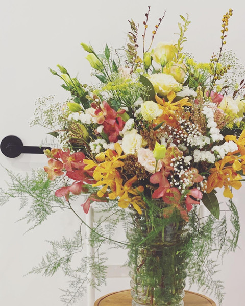 Orchids and autumn