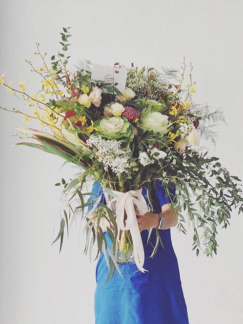 Big S bouquets (foliage extravaganza)