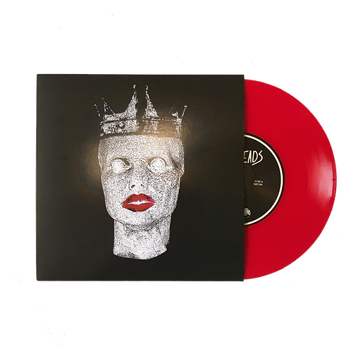 FALSE HEADS - RETINA 7 INCH *RED VINYL*