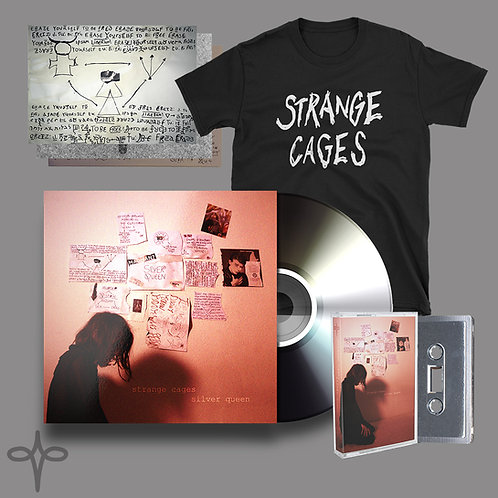 STRANGE CAGES - SILVER QUEEN EP - QUEEN BUNDLE