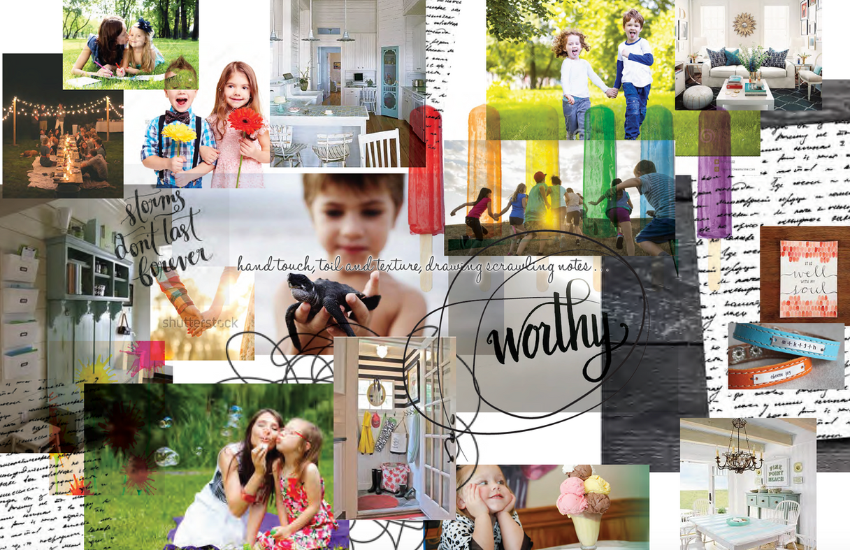Thirty-One Gifts Seasonal Concepting Process, Spring 2017   Vision & Intergrated Leadership
