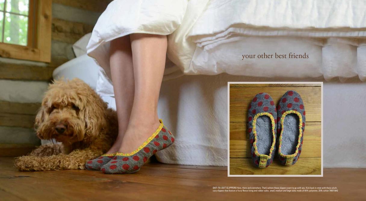All'asta Catalog, Handwoven Slippers   Brand Leadership