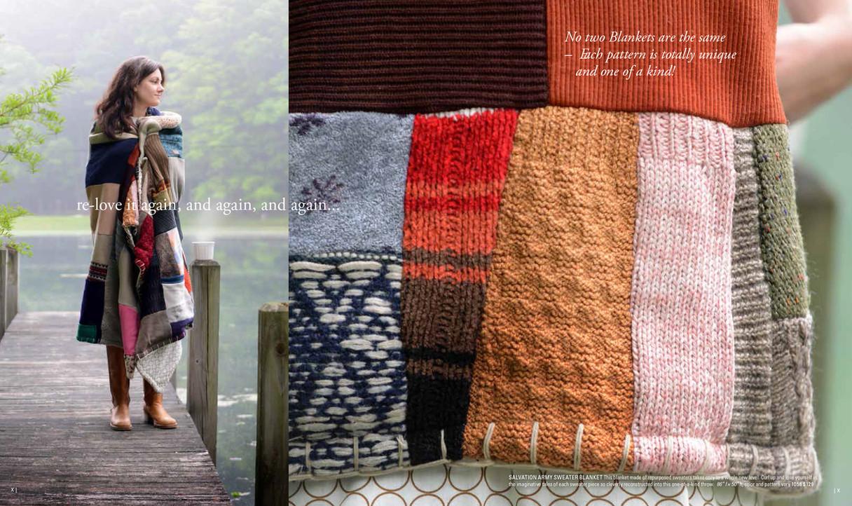 AllastAll'asta. Catalog, Army Sweater Blanket   Brand Strategy & Leadership
