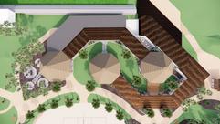 Community Centre Overhead