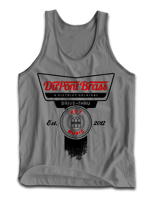 Grey Hot Music Tank
