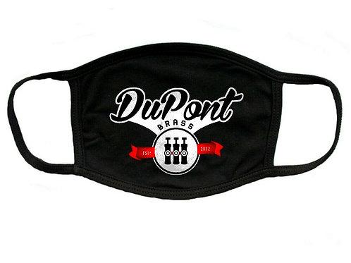 Vintage Black DPB Logo Mask