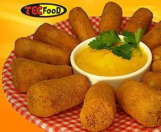 Croquete de Aipim com Carne Seca Pré-Frito