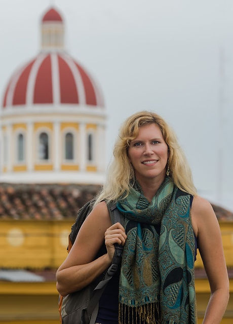 Tracey Carisch in Granada Nicaragua Smal